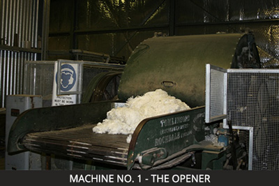 Nundle Woollen Mill Machine. 1 – the Opener