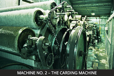 Nundle Woollen Mill Machine 2 - The Carding Machine