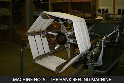 Nundle Woollen Mill Machine 5 - The Hank Reeling Machine