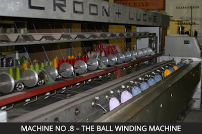 Nundle Woollen Mill Machine 8 - The Ball Winding Machine
