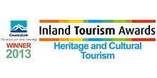 Inland Tourism Awards - Heritage and Cultural Tourism winner 2013