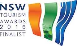 NSW Tourism Awards 2016 finalist
