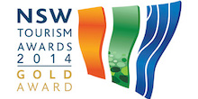 NSW Tourism Awards - 2014 Gold Award