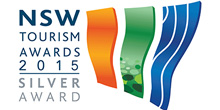 NSW Tourism Awards 2015 Silver Award