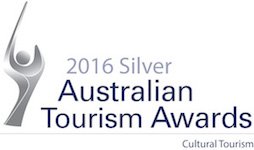 Silver 2016 Australian Tourism Awards