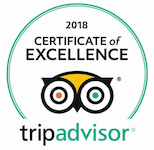 2018 Certificate of Excellence TripAdvisor