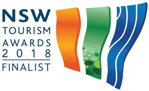 NSW Tourism Awards 2018 finalist